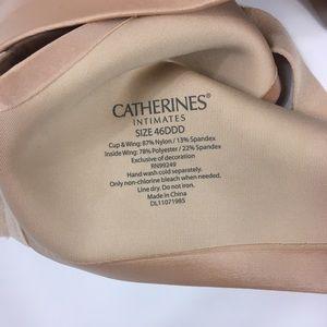 Catherines Intimates & Sleepwear - Catherine's Beige Bra Womens 46DDD